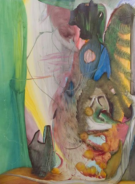 Gregor Gleiwitz. 'Untitled', oil on canvas, 2011