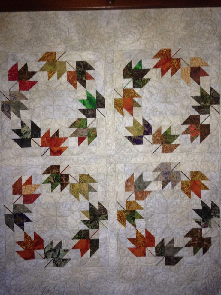 54 Best Quilting Maple Leaf Images On Pinterest Autumn Quilts