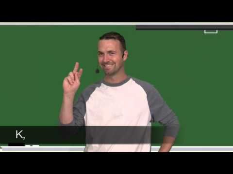 ABC You Later - great alternative to the traditional ABC song - Uses American Sign Language.