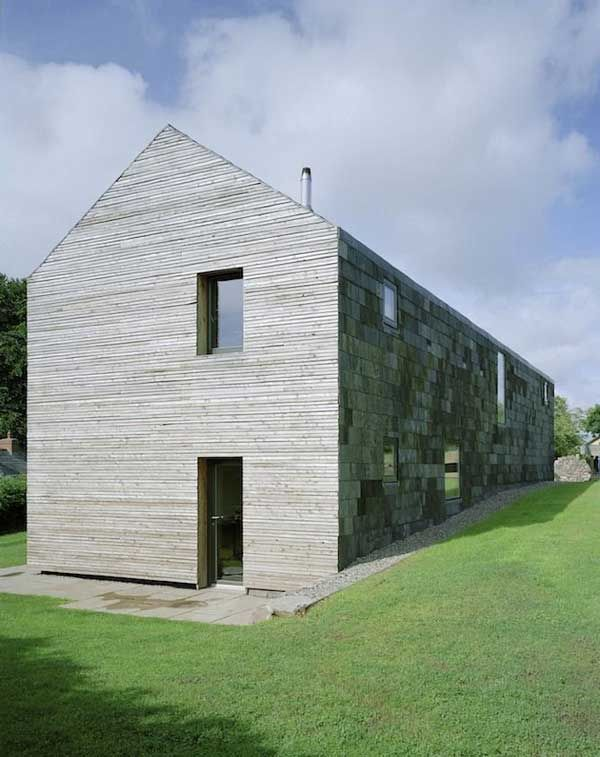 Feilden Fowles Architects - Passive Long House, Ty Pren