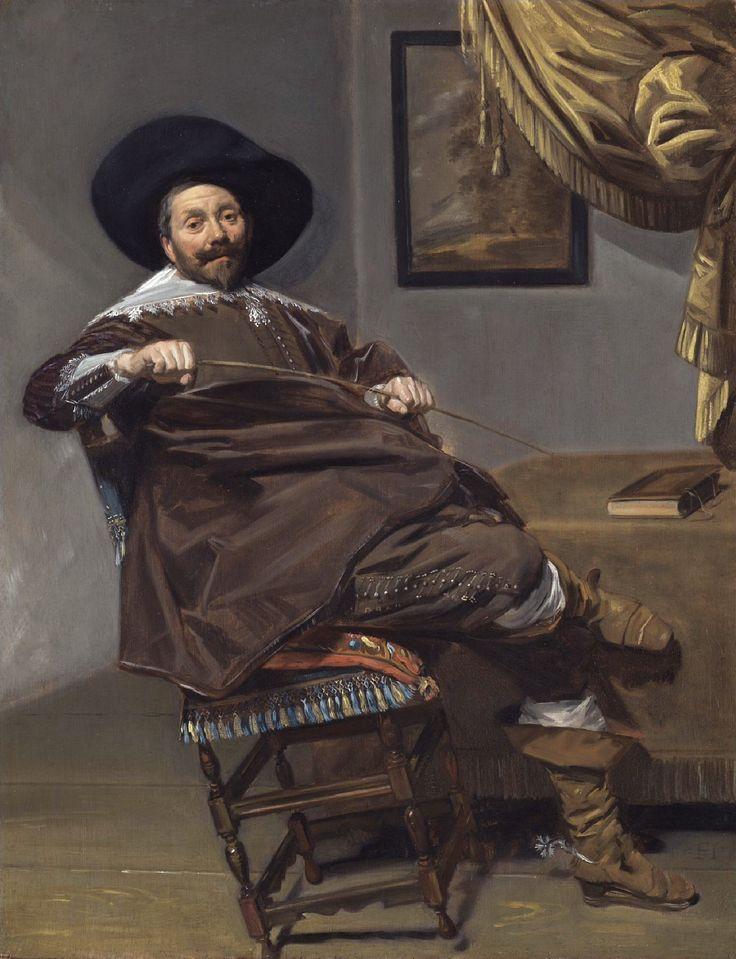 Frans Hals, portrait of Willem van Heythuysen, 1634.