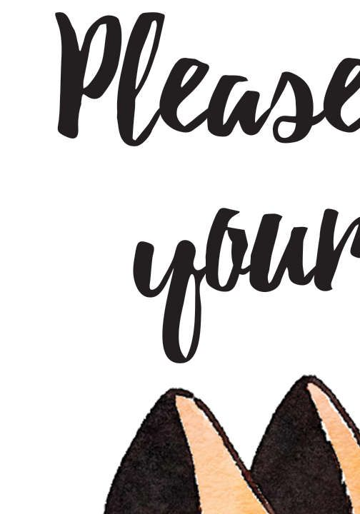 25 best ideas about no shoes sign on pinterest cool doormats shoes off sign and your shoes - No shoes doormat ...