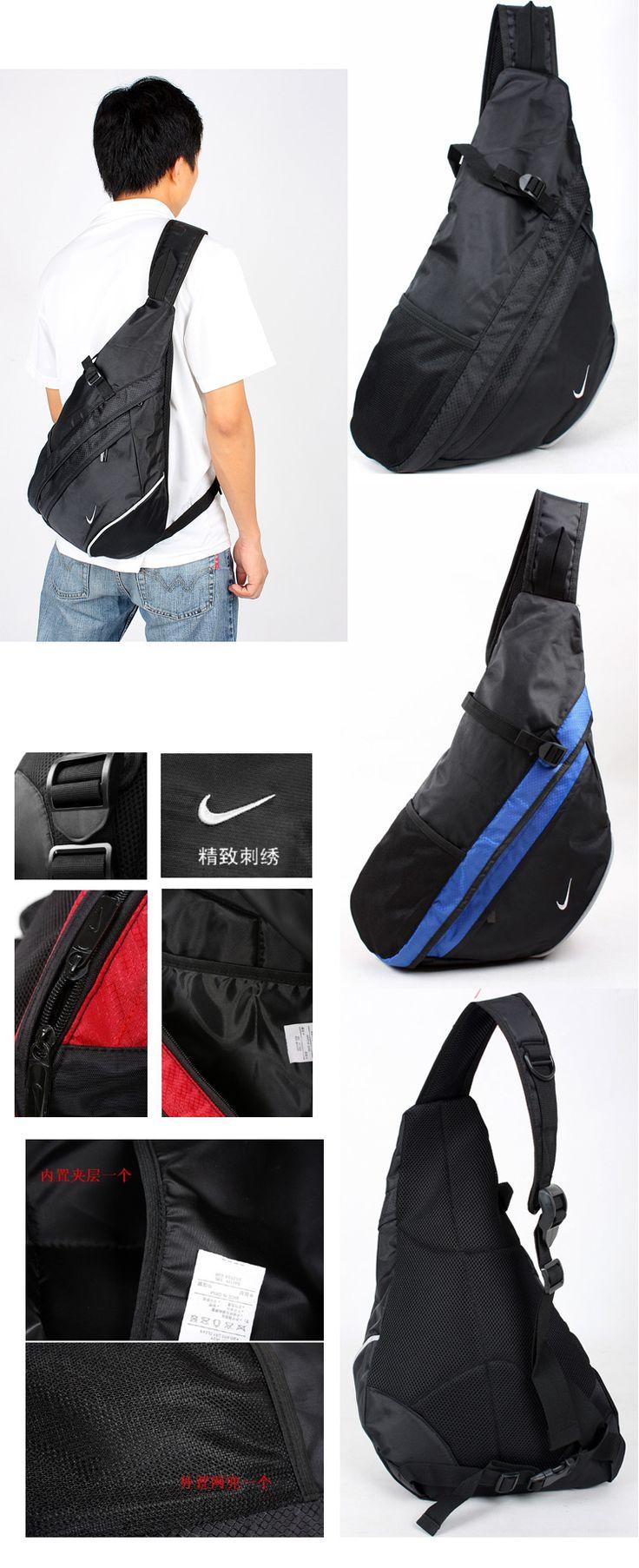 Аутентичные Nike сумка мужчины сумка сумка сумка треугольник косой рюкзак спортивная сумка школьная сумка сумка груди - Taobao
