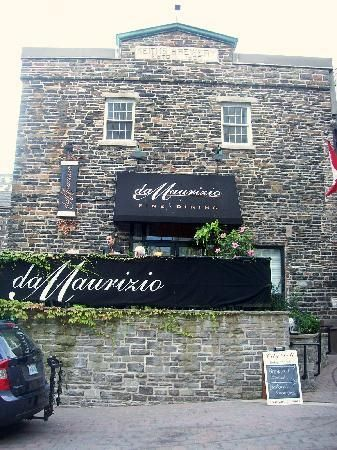 Da Maurizio Dining Room 1496 Lower Water Street, #Halifax, #Nova #Scotia located in the old Brewery Market building. I highly recommend the pumpkin ravioli! #Halifax #restaurants http://www.MervEdinger.com