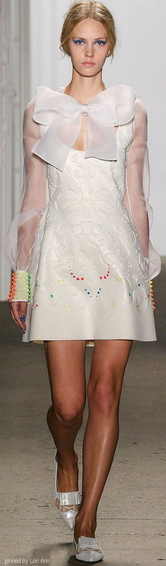Honor Spring 2015 | The House of Beccaria~ the cuffs...just like those candies that come on a roll of paper!!!
