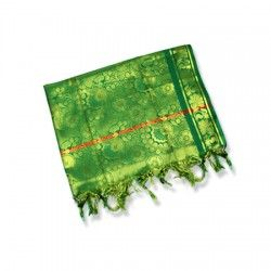 Designer shawl for women - green