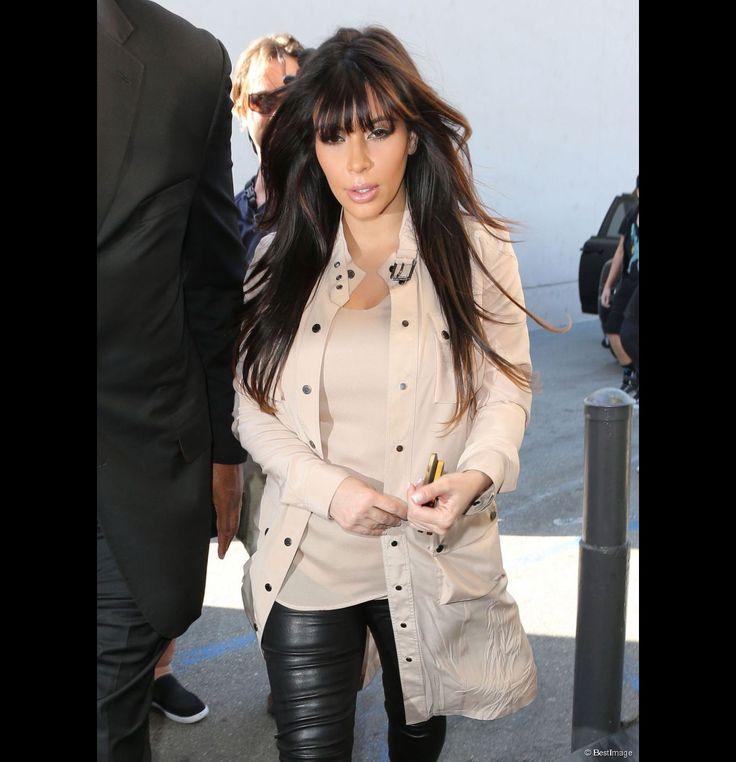 Kim Kardashian y, ¿su look de premamá