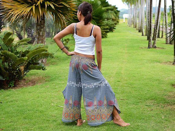 Pantalones de harén pantalones de Harem pantalones Hippie