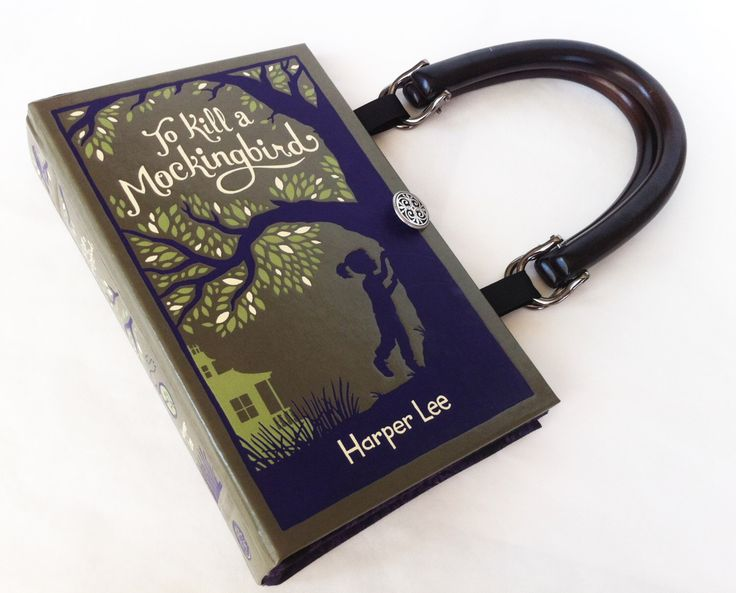 To Kill A Mockingbird Recycled Book Purse - Leather bound Book Purse - Banned Book Purse by NovelCreations on Etsy https://www.etsy.com/listing/59407328/to-kill-a-mockingbird-recycled-book