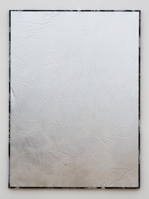 Roman Liška - Silver screen (large dazzle flat), 2012 - Rod Barton Gallery
