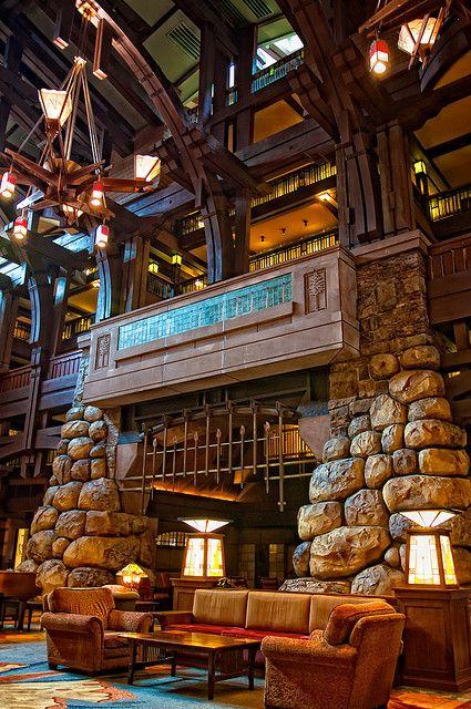 Beautiful! Disneyland - Grand Californian by Matt Pasant, via Flickr
