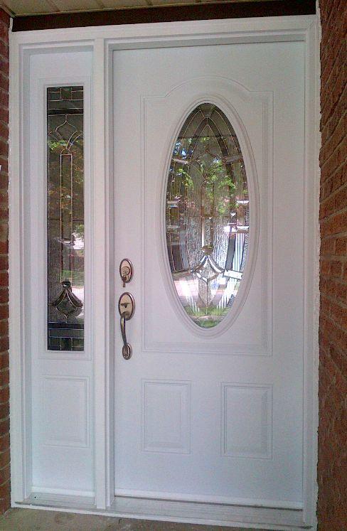 Exterior Door High Security Steel Door Window Treatments