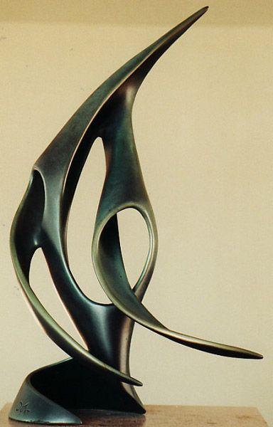 Spin doctor Bronze Sculpture by Trevor Askin