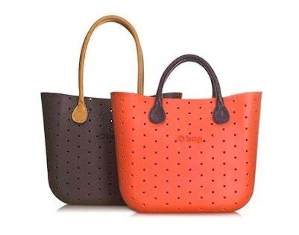 O Bag arancio e marrone