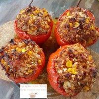 Mexicaanse gevulde paprika : Recepten van Domy