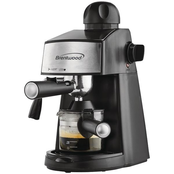 Enjoy a great cup of Espresso or Cappuccino at home or in the office with this Brentwood Espresso Cappuccino Maker @ www.thewineboxessentials.com
