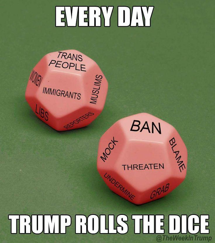 dice ban tweet funny  #political #humor