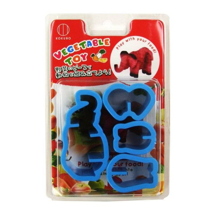 Japanese Bento Accessories Cookie Cutter Set 3D Elephant