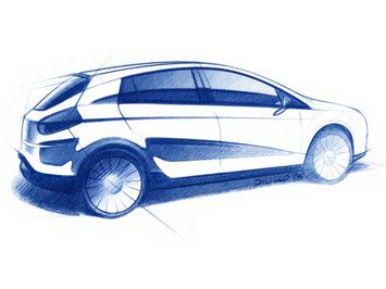 Fiat Bravo Sketch #cars #fiat #bravo