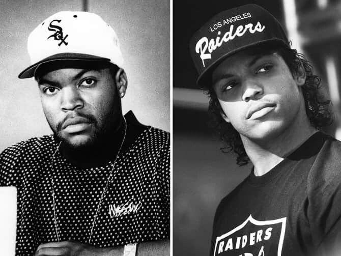 Ice Cube & Oshea Jackson