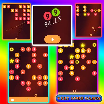 Quite an unusual free online game - something of arkanoid, bubble shooter, and billiard