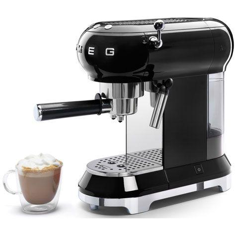 Smeg adds the ECF01 espresso machine to its retro kitchen range