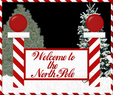 North Pole Signs North Pole Sign Miniature Christmas