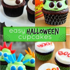 Decorate Cupcakes Halloween Easy