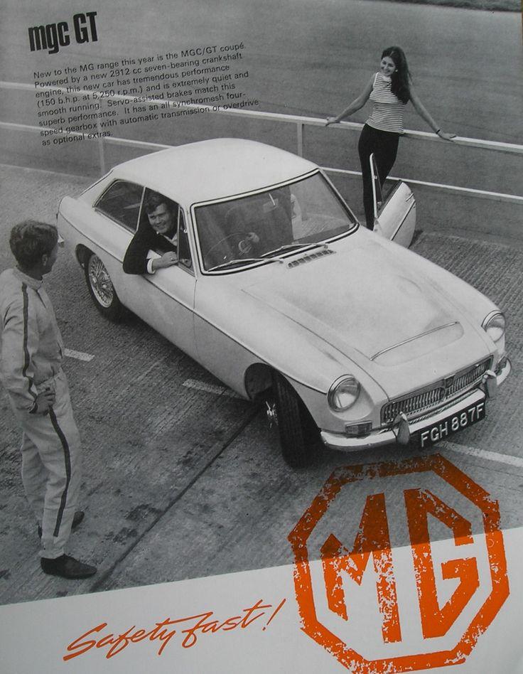 1967 MGC GT Brochure