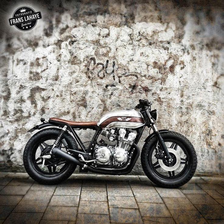 motomood:   Honda CB750 cafe racer | frans lahaye / cafe racer