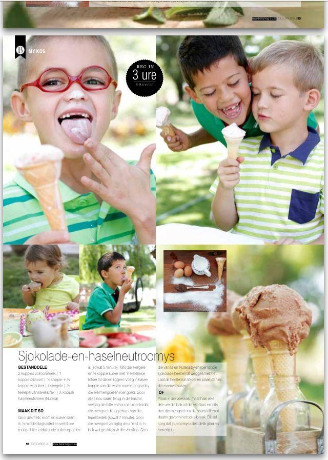 Ice Cream Lifestyle Shoot