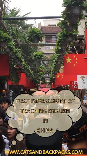 We've been living in China for almost a month now, and I thought it was about time to discuss our first impressions of teaching in this Country... It turns out, teaching in a private language centre in China isn't like we thought it would be at all. It's much better!