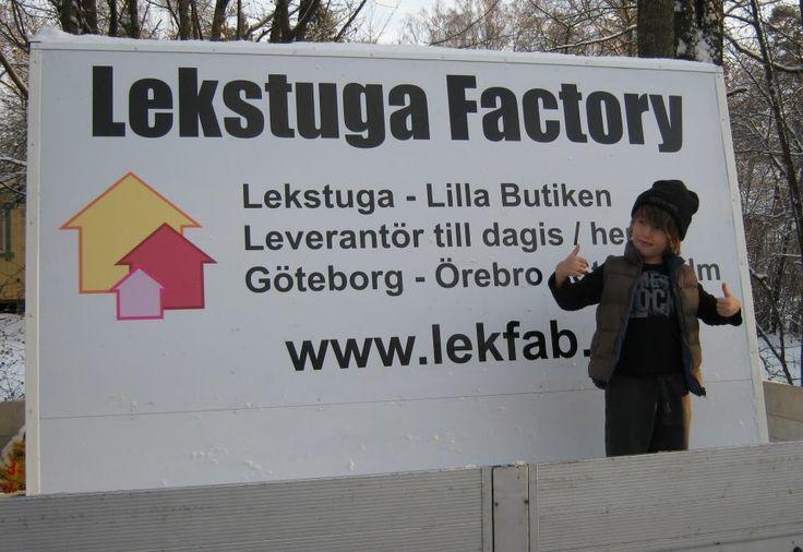 Lekstuga Factory  www.lekfab.se