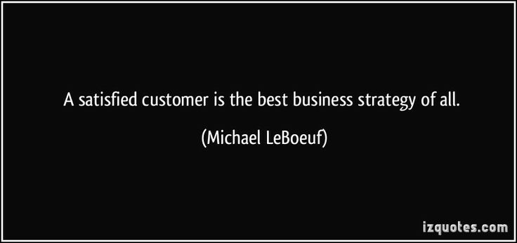 The best #business #strategy.