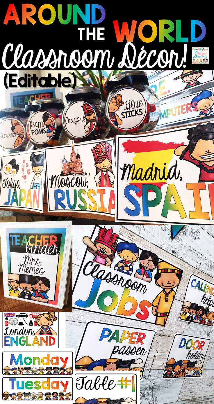 Multicultural Classroom Decor ~ The best multicultural classroom ideas on pinterest