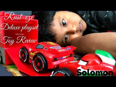 Rust-eze Deluxe playset Toy review