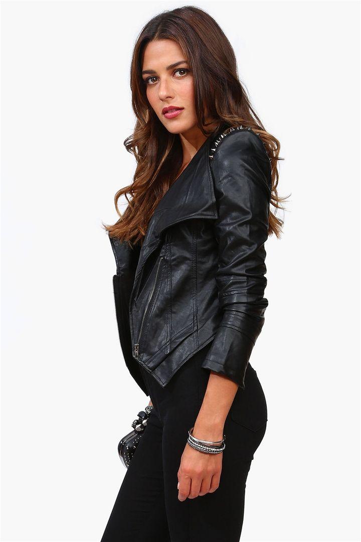 Spike Leather Jacket