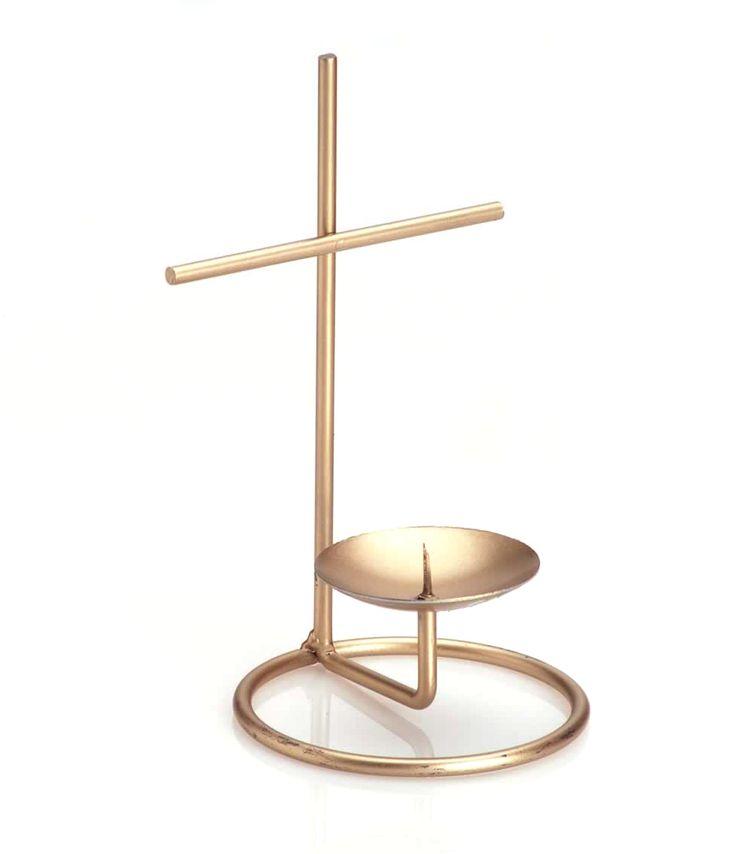 Productos - Herrería Cruz Para Vela 17X10cm 1Pz - Fantasias Miguel