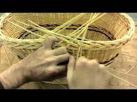 Плетение из лозы-Косичка от первого лица-Wickerwork - YouTube