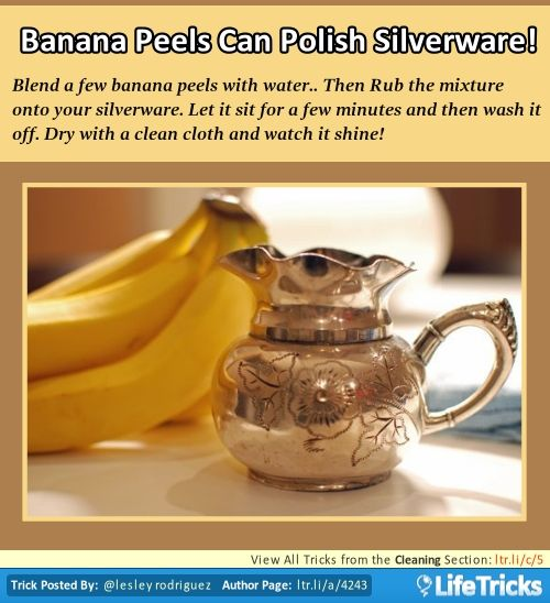 Can you clean shoes with a banana skin?