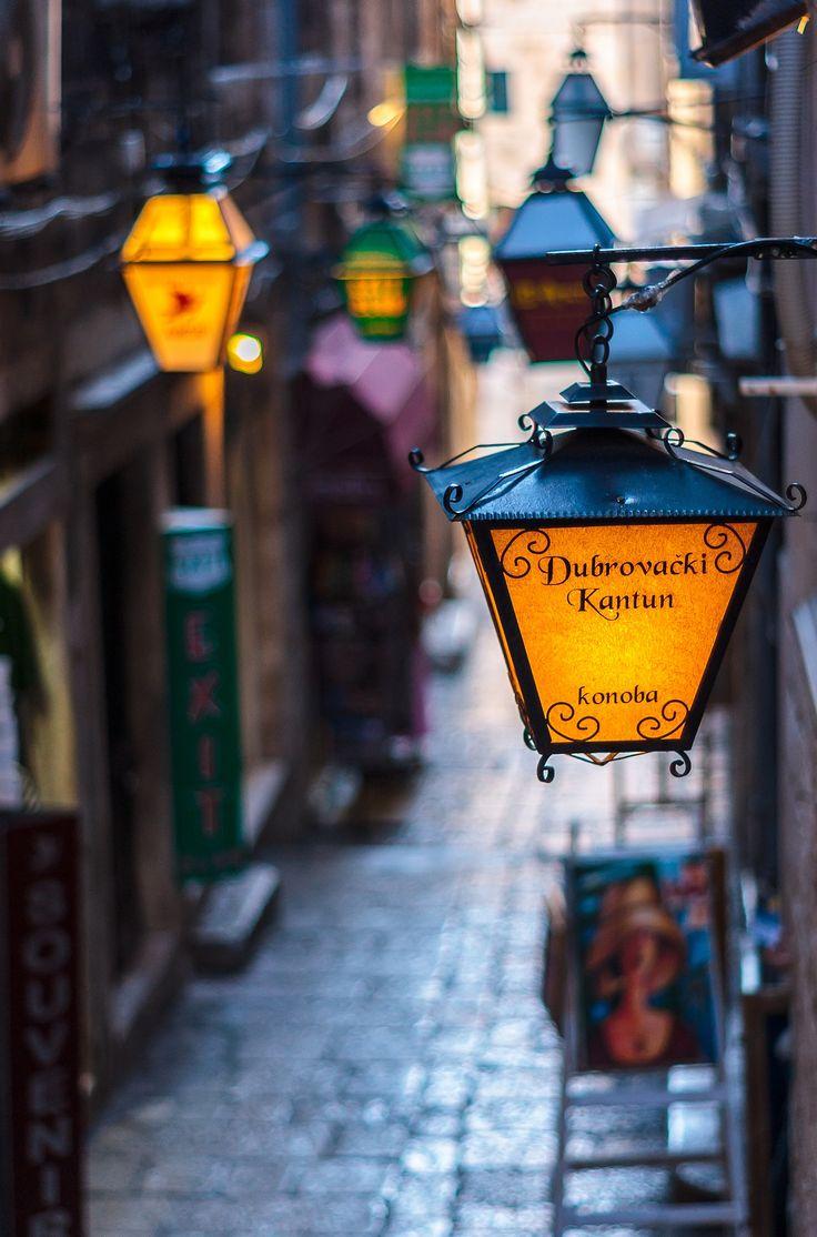 Street Lamps - Dubrovnik, Croatia
