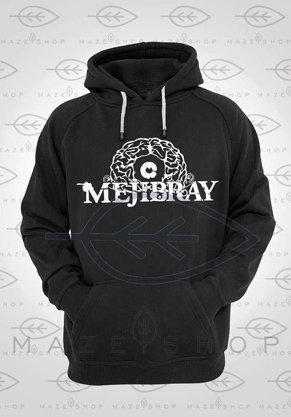 Mejibray Hoodie Sweatshirt Visual Kei BabyMetal Dir en Grey