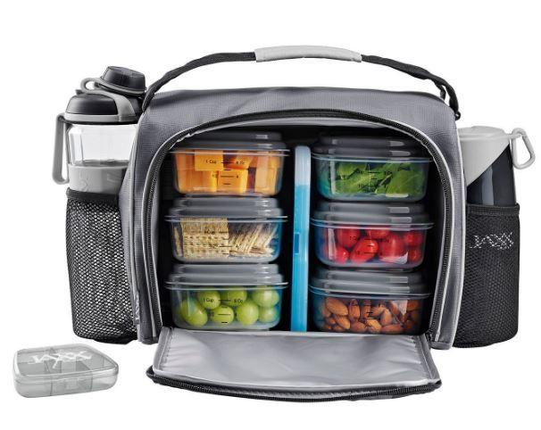 Jaxx Fitpack Deluxe Meal Prep Bag Only 19 98 Meal Prep Bag