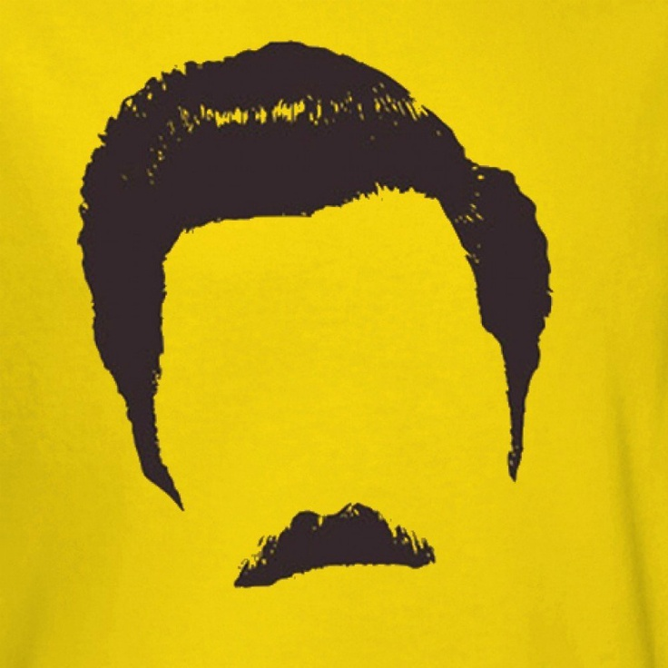 Ron Swanson T-shirt Tutorial-Ha! Too funny! Making this for my younger brother