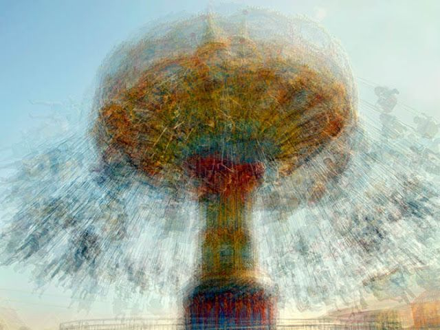 Blurry Carousels by Pep Ventosa