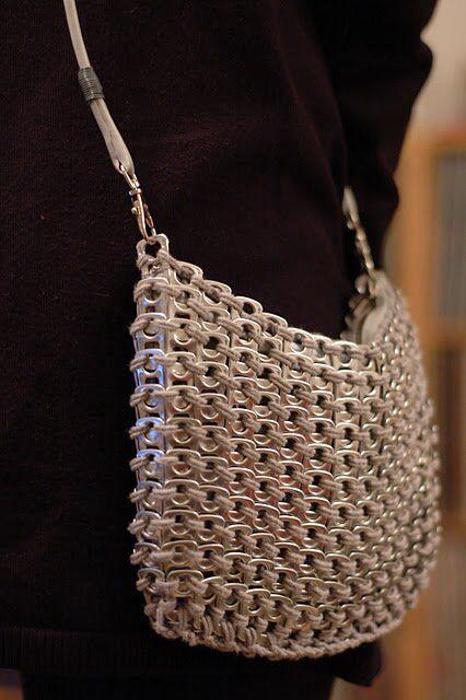 Pop tab purse