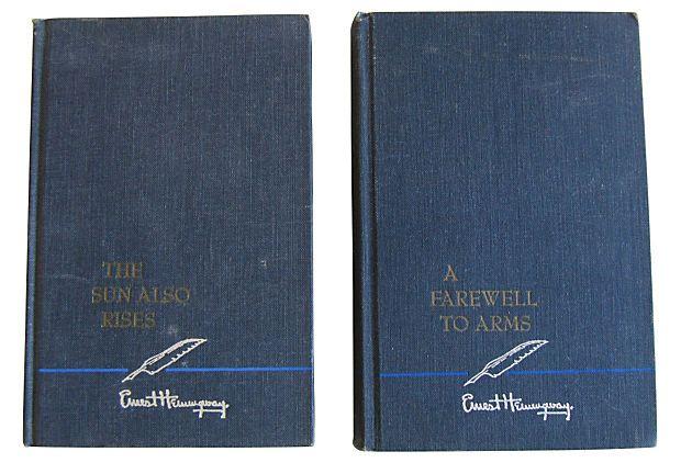 Ernest Hemingway Novels, Pair on OneKingsLane.com
