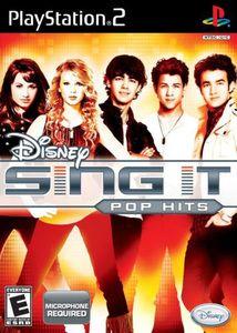 Disney Sing It Pop Hits - PS2 Game