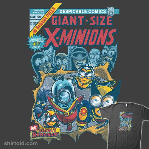 Giant-Size X-Minions #1  #chipskelton #colossus #comic #comics #cs3ink #cyclops #despicableme #film #minion #minions #movie #storm #wolverine #xmen