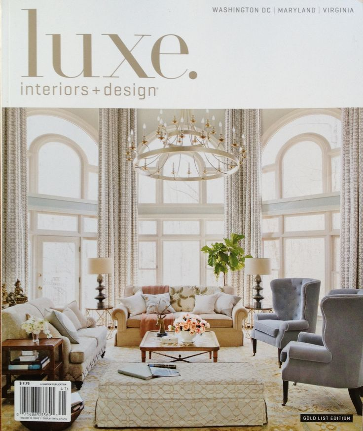 Lauren Liess Luxe Magazine Cover Living Room Pinterest